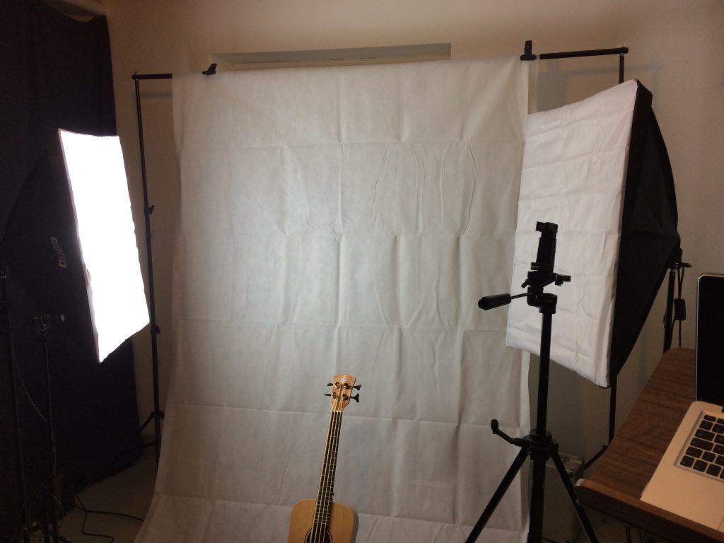 My basement photo studio setup